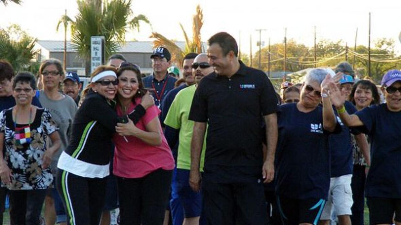San Antonio celebró la Gran Final de Únase al Reto en el parque Woodlawn...