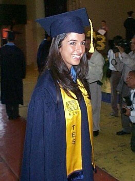 Maity se graduó de la secundaria en su natal Honduras y a los 18 años so...