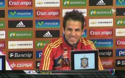 'Nunca me he comparado con Messi porque sería una tontería': Cesc Fábregas