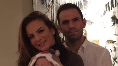 ¡Silvia Navarro cierra el año con su nueva familia!