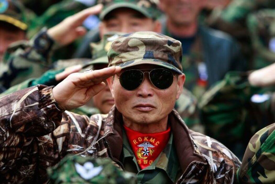 25 marzo.- Corea del Sur y EEUU ponen en marcha un nuevo plan conjunto d...