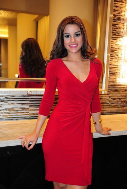 Clarissa Molina de República Dominicana, audicionó en Nueva York. Ella e...