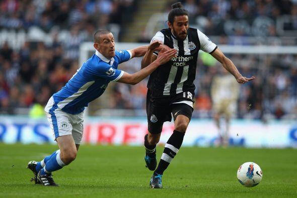 El Newcastle recibió la visita del Wigan en busca de seguir acech...
