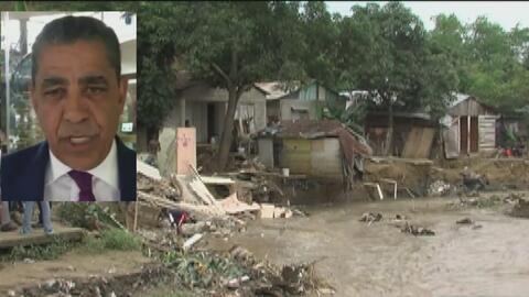 Senador Adriano Espaillat especifica qué tipo de ayuda humanitaria neces...