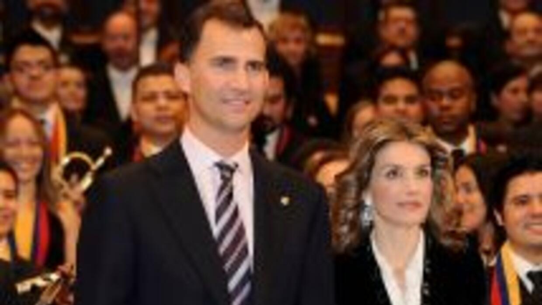 Los príncipes de Asturias realizan una visita oficial a España.