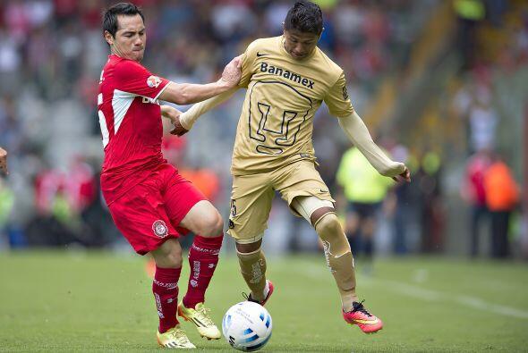 Los cambios de Pumas no tuvieron efecto en el juego. Nieto, Herrera y La...