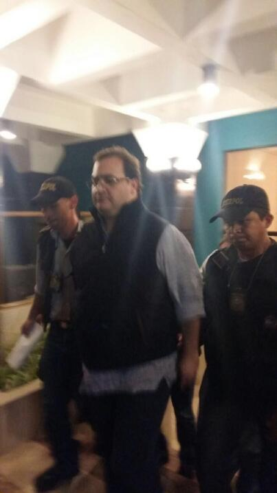 El exgobernador Duarte rechaza ser extraditado voluntariamente a México...