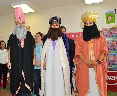 Llegaron los Reyes, no los Wiggles. Y los tres Reyes Magos hicieron su e...