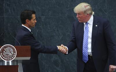 En un minuto: Peña Nieto y Trump se reunieron en México atendiendo la in...
