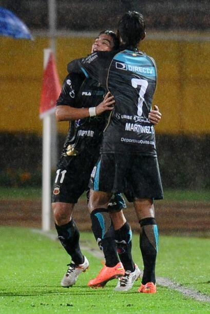Fidel Martínez anotó un gol y Matías Aluzta se robó la noche al converti...