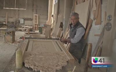 Artesanos mexicanos crean silla para el papa