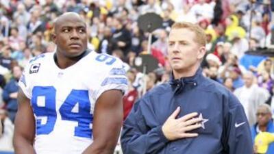 Jason Garrett no ha perdido la fe en DeMarcus Ware, aún después de su pe...