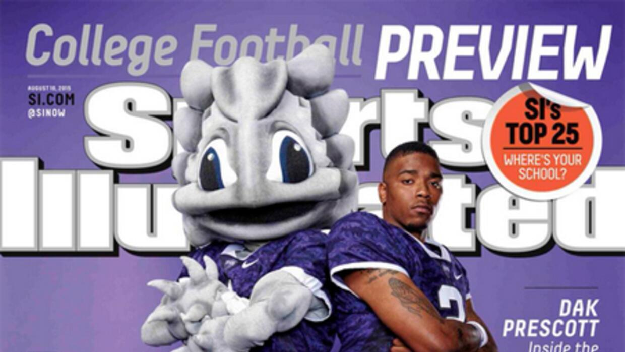 Portada de Sports Illustrated on TCU