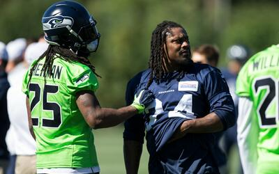 RICHARD SHERMAN MARSHAWN LYNCH