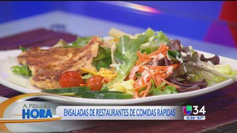 ¿Cómo elegir una ensalada que realmente sea sana y ligera?