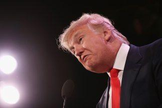 El controvertido empresario estadounidense Donald Trump.