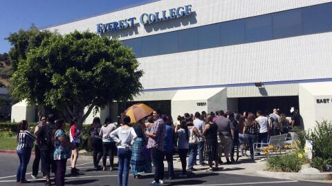 Everest College, y su matriz Corinthian College, fueron acusados de fraude