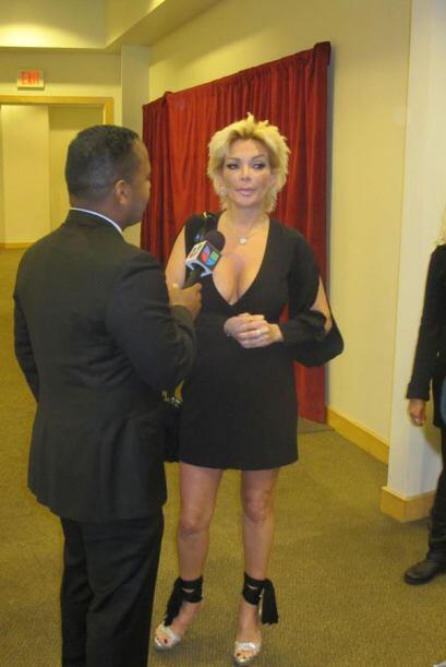 Tony logró entrevistar a la controversial Marisela que aunque no estaba...