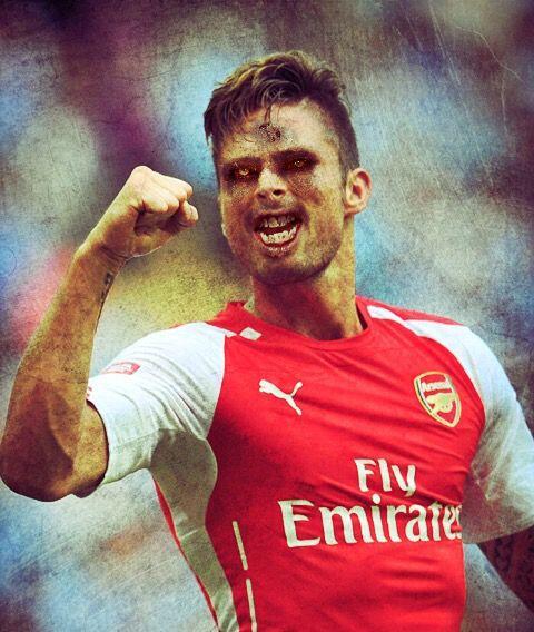 Olivier Giroud, delantero francés del Arsenal.