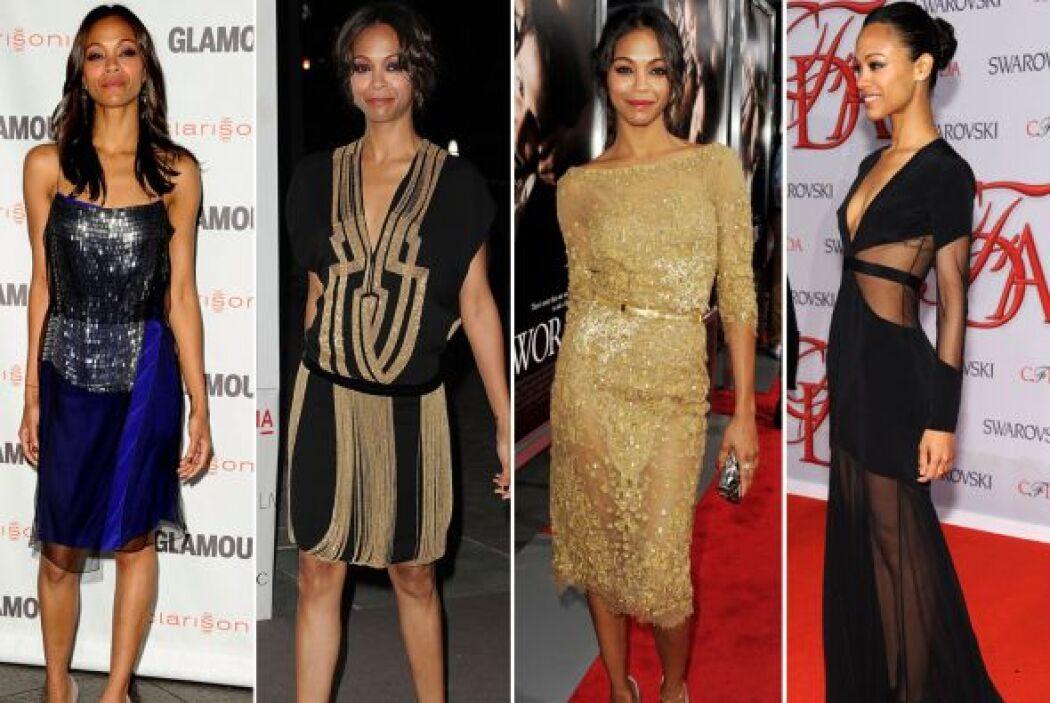 La actriz dominicana siempre figura en la listas de las mejores vestidas...