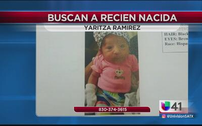 Autoridades solicitan ayuda ciudadana para encontrar a una bebé recién n...