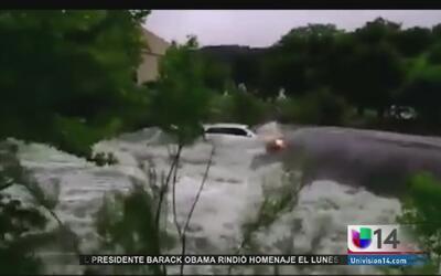 Lluvias mortales en Texas y Oklahoma