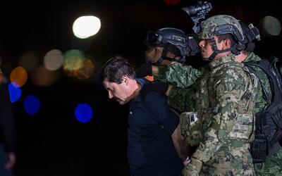 Joaquin 'El Chapo' Guzman, líder del cártel de Sinaloa, re...
