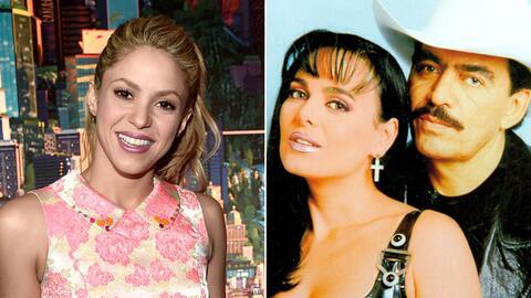 Shakira y Joan Sebastian