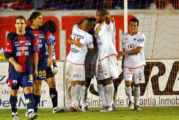 Los Jaguares de Chiapas visitaron al Atlante para sacarle un empate al f...