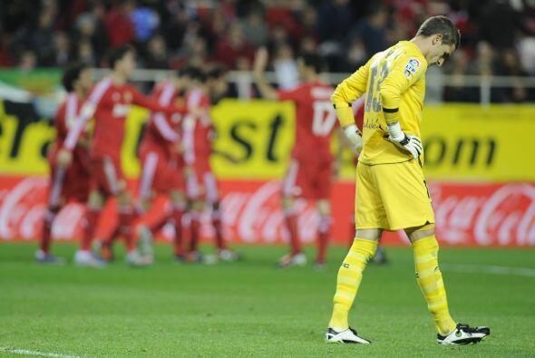 Sevilla volvió a anotar, fue el 2-6, pero no le alcanzó. R...