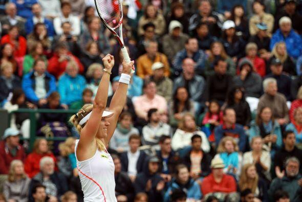 Kerber eliminó a la belga Kim Clijsters por un doble 6-1.