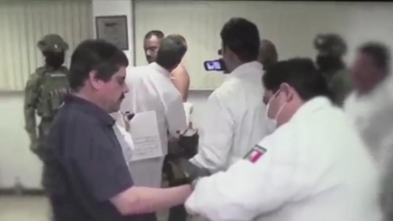 En video, el traslado de 'El Chapo' Guzmán entre fuertes medidas de segu...