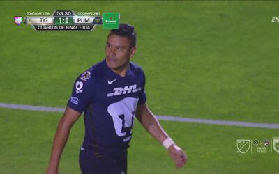 Pablo Barrera volvió a tocar la puerta de Tigres