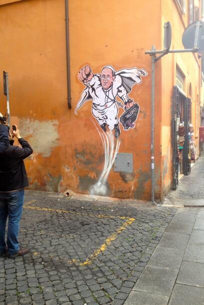 Mauro Pallotta jamás hubiese imaginado que una de sus obras obtendría ta...