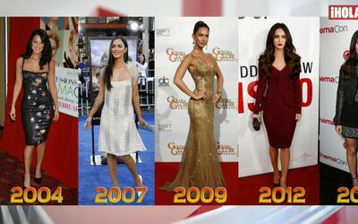 La moda de Megan Fox ayer y hoy