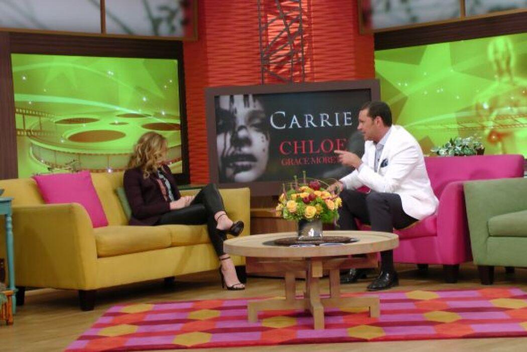Esos poderes de Carrie son, sin duda, cosa de otro mundo. ¿Qué harían lo...