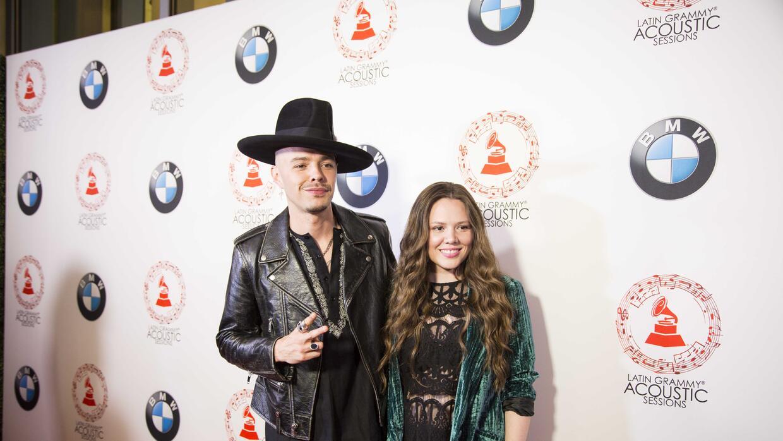 Jesse y Joy sesión acústica en Miami