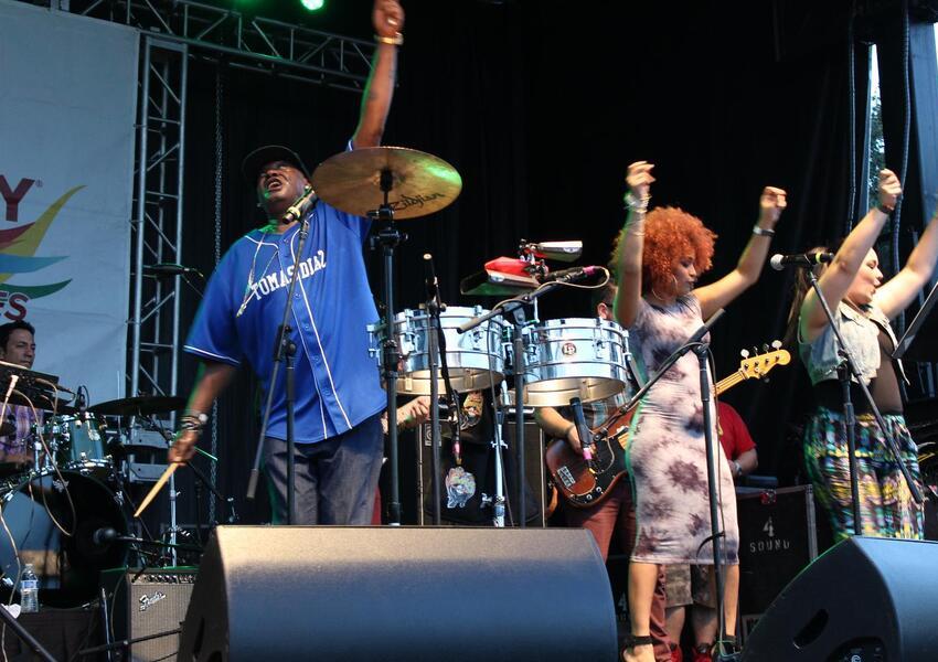 ¡Miami se disfrutó el Latin Grammy Street Party!
