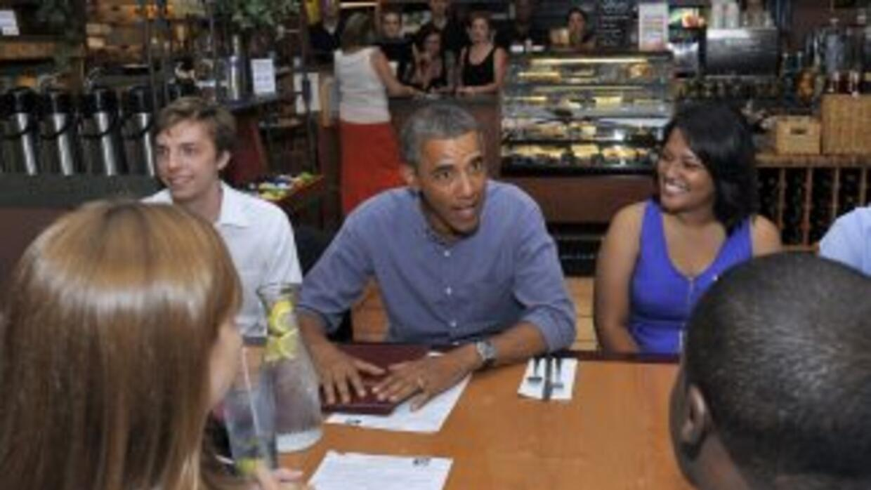 El presidente de Estados Unidos, Barack Obama, habló de la educación.