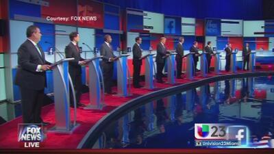 ¿Quién ganó el primer debate republicano?