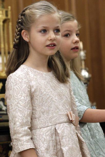 La hermosa hija de los reyes de España, Don Felipe y Doña Letizia, ha si...
