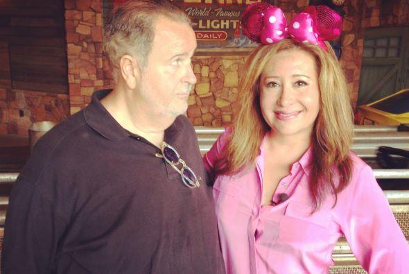 """Jessica usó un moño como el de """"Minnie"""", pues es uno de los principales..."""