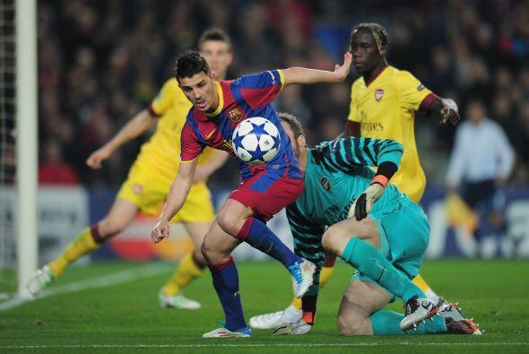 El 'Guaje' Villa tuvo algunas opciones para marcar, pero no tuvo fina la...