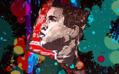 Imperdible: La pintura en honor a Mohammed Alí que te dejará boquiabierto