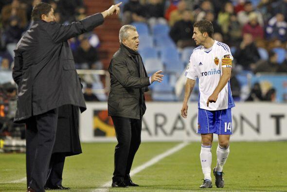 El capitán del Zaragoza ha sido el hombre fuerte de Javier Aguirr...