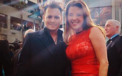 Alicia Machado conoció a Johnny Depp en el País de las Maravillas