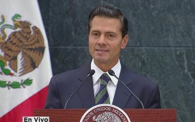 """Enrique Peña Nieto sobre Donald Trump: """"mi prioridad es proteger a los m..."""