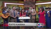 ¡Éxito Karina Banda!
