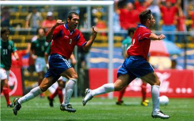 Costa Rica derrotó a México en el Estadio Azteca en 2001.