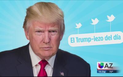 El Trump-iezo del día: Al presidente ¿se le fue la lengua?